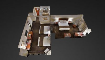 Gold Eagle Lodge Family Suite 3D Model